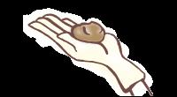 ピンポン玉約1個分 イメージ